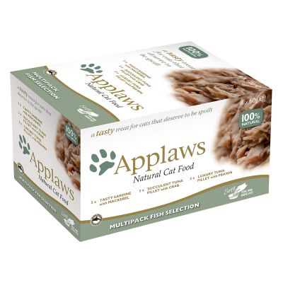 Blandpack: Applaws Cat Pot Selection kattmat