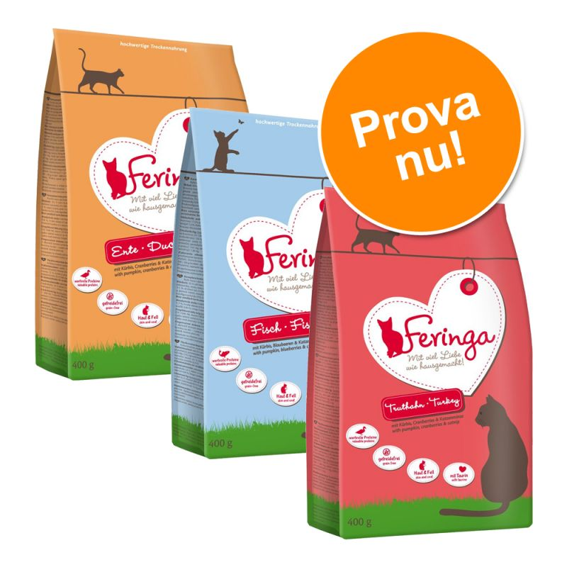 Blandpack: Feringa torrfoder - spannmålsfritt
