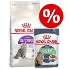 Blandpack: 4 kg Royal Canin + 24 x 85 g våtfoder