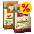 Blandpack: Lukullus kallpressat hundfoder 2 x 10 kg