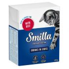 Blandpack: Smilla bitar i sås eller gelé 24 x 370 / 380 g