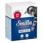 Blandpack: Smilla Chunks i sås eller gelé 12 x 370 / 380 g