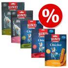 Blandpack: 5 sorters RINTI Snacks till sparpris