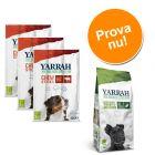 Blandpack: 2 sorters Yarrah Organic hundgodis