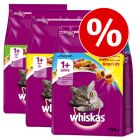 Blandpack: Whiskas 1+  3  x  3,8 kg