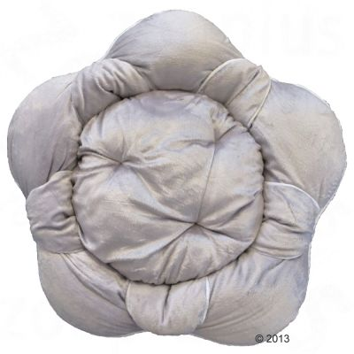 Blossom Snuggle Bed - White / Grey