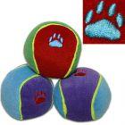 Bolas Trixie coloridas com som para cães