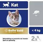 Bolfo® Gold 40 voor Katten tot 4 kg