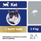 Bolfo® Gold 80 voor Katten vanaf 4 kg