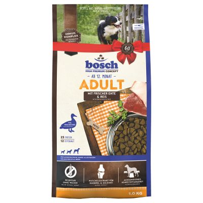 bosch Adult Duck & Rice Dry Dog Food