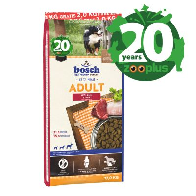 bosch Adult Lamb & Rice Dry Dog Food