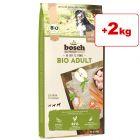 bosch Bio -koiranruoka 11,5 kg: 9,5 kg + 2 kg kaupan päälle!