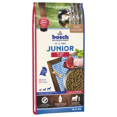 bosch Junior Lamb & Rice Dry Dog Food