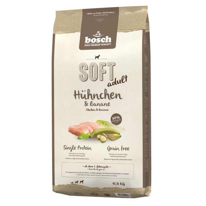 bosch Soft Kip & Banaan Hondenvoer