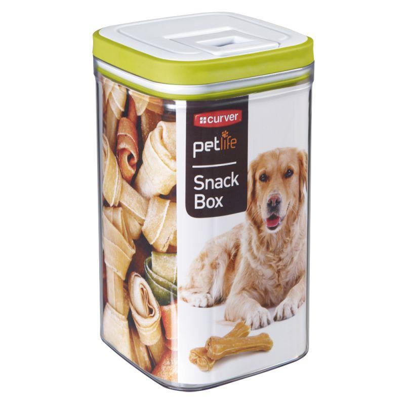 Boîte à friandises Curver pour chien