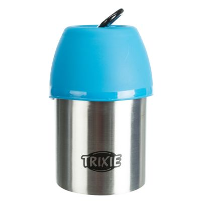 Botella de acero con bebedero Trixie Friends on Tour ¡en oferta!