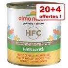 Boîtes Almo Nature HFC 20 x 280g + 4 boîtes offertes !