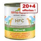 Boîtes Almo Nature HFC 20 x 280/290 g + 4 boîtes offertes !