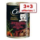 Boîtes Cesar Natural Goodness pour chien 3 x 400 g + 3 boîtes offertes !