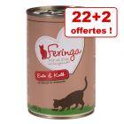 Boîtes Feringa Classic Meat Menu 22 x 400 g + 2 boîtes offertes !