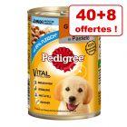 Boîtes Pedigree Classic pour chien 40 x 400g + 8 boîtes offertes !