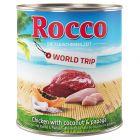 Boîtes pour chien Rocco Tour du monde, Jamaïque, 6 x 800 g