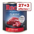 Boîtes Rocco Classic 27 x 800 g + 3 boîtes offertes !
