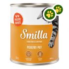 Boîtes Smilla volaille 24 x 800 g pour chat : zooPoints x 2 !