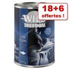 Boîtes Wild Freedom Adult 18 x 400 g + 6 boîtes offertes  !