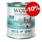 Boîtes Wolf of Wilderness 24 x 800 g pour chien : 10 % de remise !