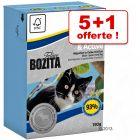 Bouchées en gelée Bozita 5 x 190 g + 190 g offerts !