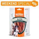 Boxby Puppy & Adult Slices al pollo Snack per cani