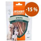 Boxby snacks para perros ¡en oferta!