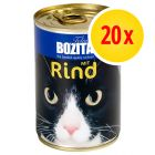 Bozita Canned Food Multibuy  20 x 410g