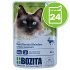 Bozita Bouchées en sauce 24 x 85 g pour chat