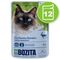 Bozita Bouchées en sauce 12 x 85 g pour chat