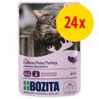 Bozita Chunks in Gravy Pouch -säästöpakkaus 24 x 85 g