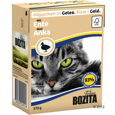 Bozita Chunks in Jelly Multibuy 36 x 370g