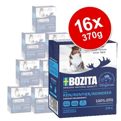 Bozita Chunks in Jelly Saver Pack 16 x 370g