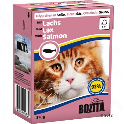 Bozita Chunks in Sauce Mega Pack