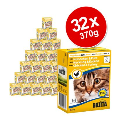 Bozita Chunks in Sauce Mega Pack 32 x 370g