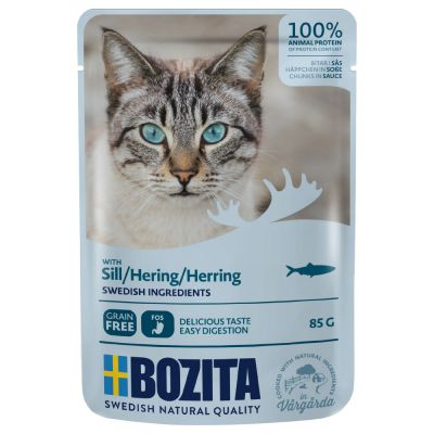 Bozita Chunks in Sauce Pouches 12 x 85g