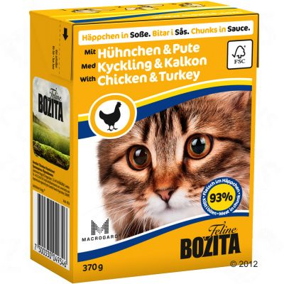 Bozita Chunks in Sauce 6 x 370g