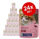 Икономична опаковка Bozita хапки в желе в паучовe 24 x 85 г