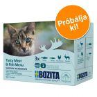Bozita falatok szószban/aszpikban, tasakos vegyes csomag 12 x 85 g