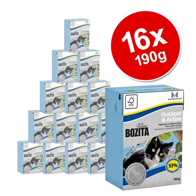 Bozita Feline Tetra Pak Saver Pack 16 x 190g