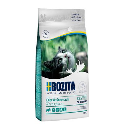 Bozita Grain Free Diet & Stomach - Elk