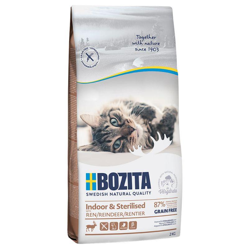 Bozita Grain Free Indoor & Sterilised - Reindeer