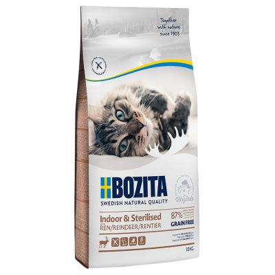 Bozita Grain Free Indoor & Sterilised se sobem
