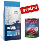 Bozita hrană uscată + gratis: Rocco Classic Vită și vânat, 1 x 400 g
